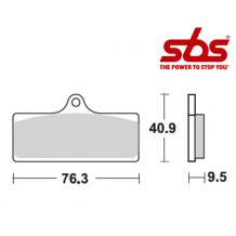 SBS 785 Brake Pad Kit