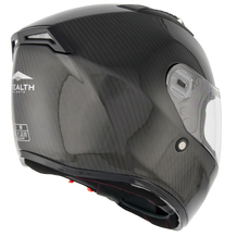 Stealth All Carbon Full Face Road Helmet - HD117 - Carbon side