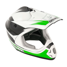 Stealth MX Kids Helmet HD204 - Green