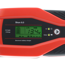 Battery Charger JMP Skan 8.0 12V 8A Lithium & Supply Mode For Diagnostics Detail