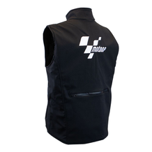 MotoGP Softshell Gilet Black Adult Back