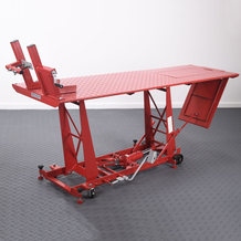 Hydraulic Motorcycle Workshop Table Lift