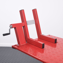 Hydraulic Motorcycle Workshop Table Lift in detail