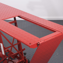 Hydraulic Motorcycle Workshop Table Lift Ramp