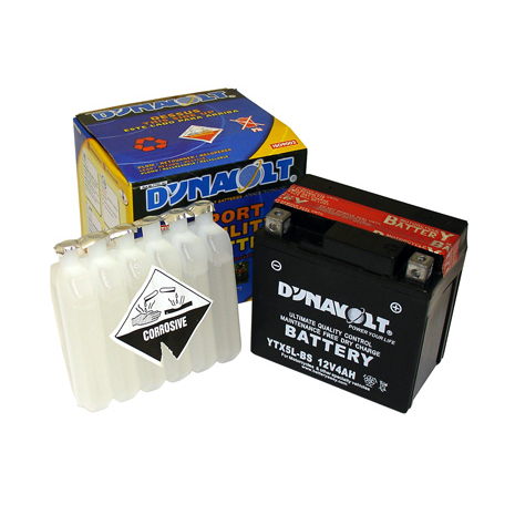 DTX5L-BS Dynavolt Maintenance Free Battery