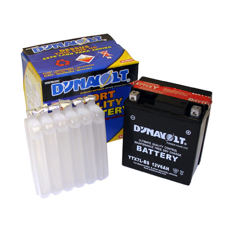 Dynavolt DTX7L-BS Maintenance Free Battery