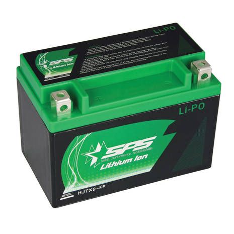 Lithium Ion Battery LIPO09A Replaces YTX9-BS, YTR9-BS