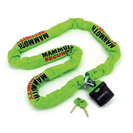 Mammoth Lock & Chain 10mm x 1.8m