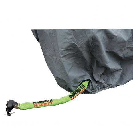 Premium Motorcycle Rain Cover Close Up