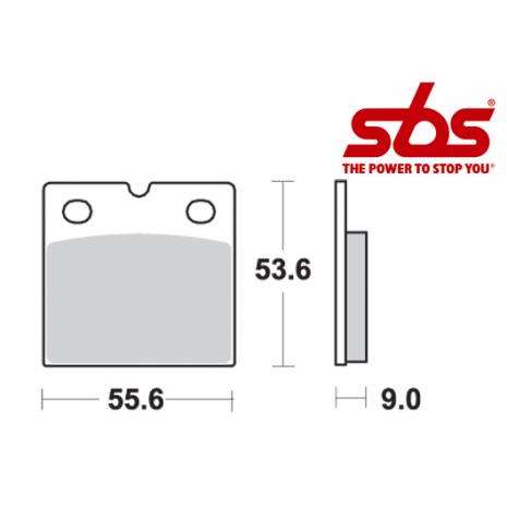 SBS 506 Brake Pad Kit