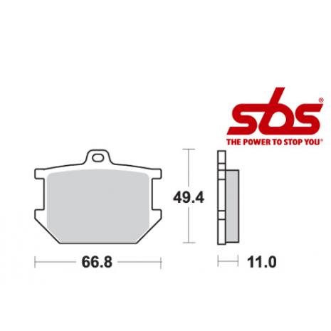 SBS 507 Brake Pad Kit