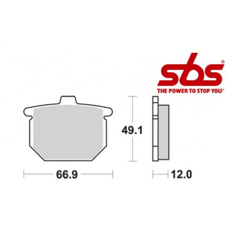 SBS 508 Brake Pad Kit