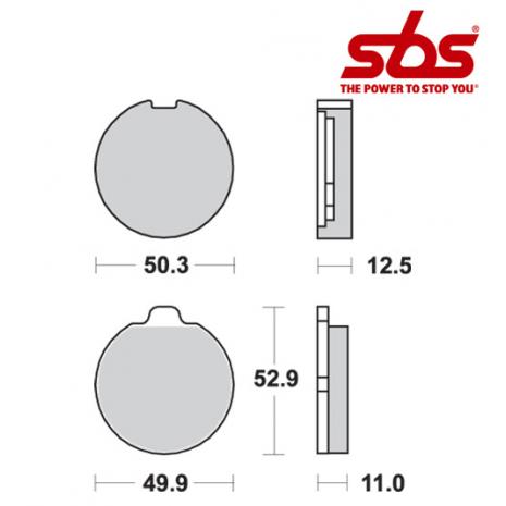 SBS 511 Brake Pad Kit