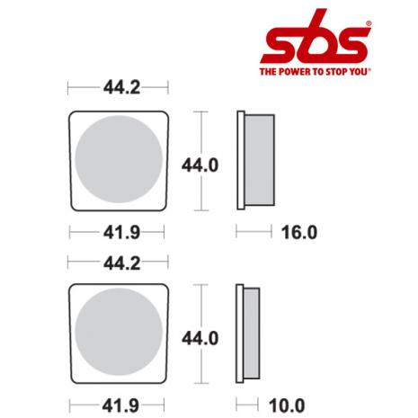 SBS 531 Brake Pad Kit