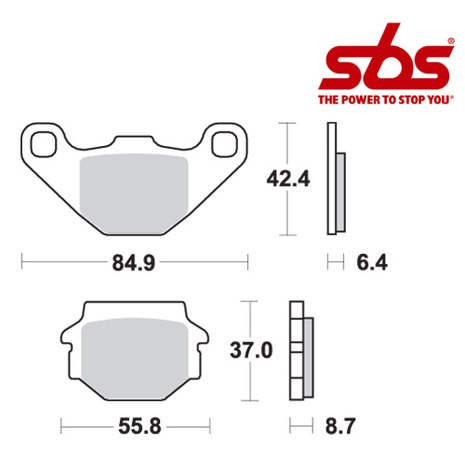 SBS 541 Brake Pad Kit