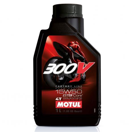 Motul 300V 15W50 4T Factory Line Synthetic Oil
