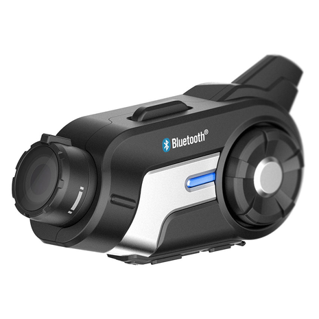 Sena 10C Motorcycle Bluetooth Camera Side View