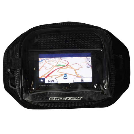 Motorcycle Sat Nav / GPS Pouch Showing Map