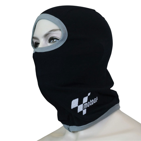 MotoGP Balaclava Black With Grey Trim