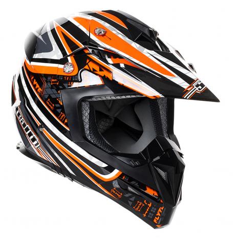 Stealth MX Helmet HD210 Droid Orange