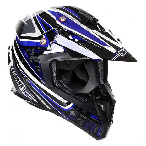 Stealth MX Helmet HD210 Droid Blue