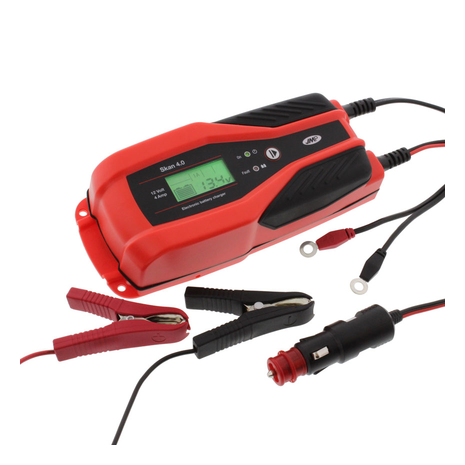 Battery Charger JMP SKAN 4.0 UK 12V 4A Lithium Compatible Full kit