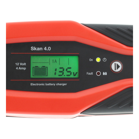 Battery Charger JMP SKAN 4.0 UK 12V 4A Lithium Compatible Detail