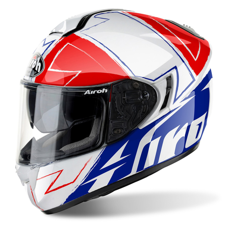 AIROH Helmet ST 701 Full Face Motorcycle Helmet - Way Gloss