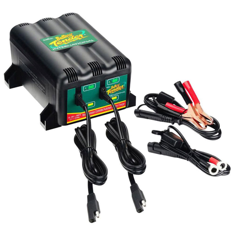 Battery Tender 1.25A 2 Bank Battery Charger