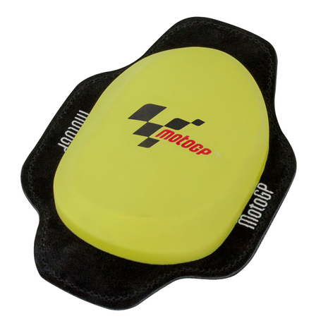 MotoGP Knee Slider - Square Yellow