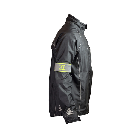 Reflective Safety Arm Bands On Jacket