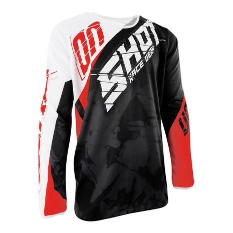 SHOT Motocross Devo Squad Shirt - Red