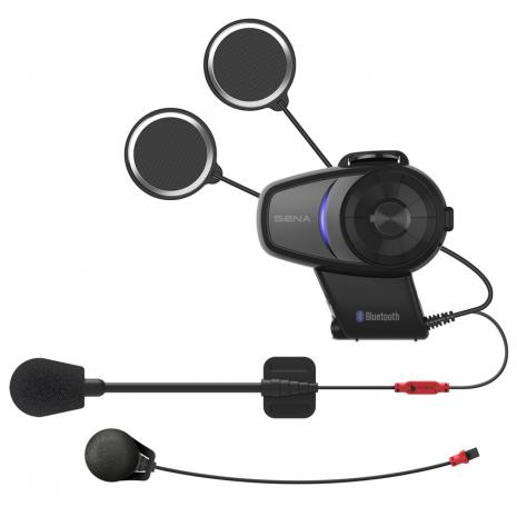 SENA 10S Motorcycle Bluetooth Intercom kits contents