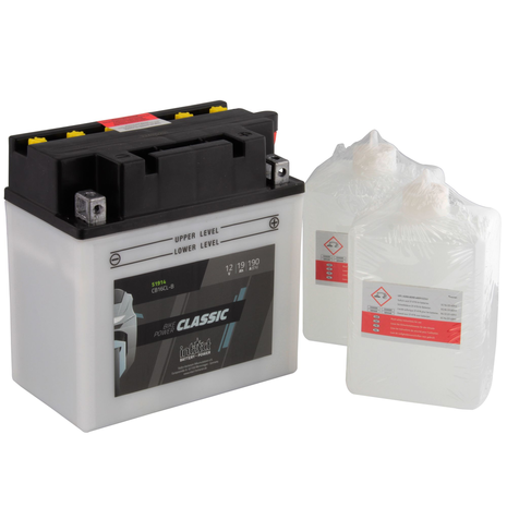 IntAct CB16CL-B Classic Bike-Power Battery With Acid Pack