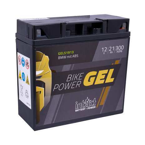 Intact Bike-Power Gel Battery BMW with ABS Motorcycle Battery