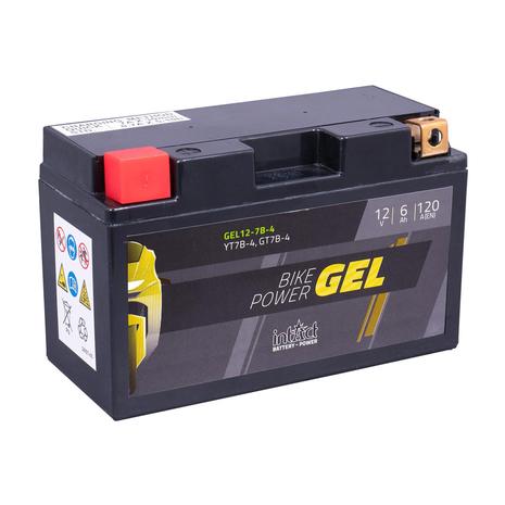 intAct YT7B-4 / GT7B-4 Gel Bike-Power Battery