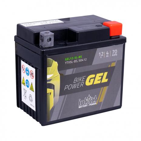IntAct YTX5L-BS Bike-Power Gel Battery