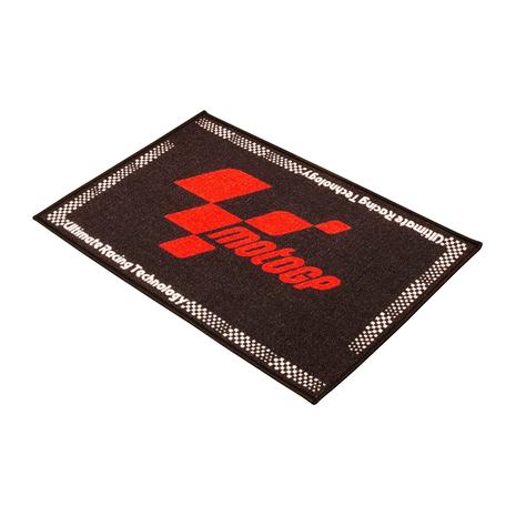 MotoGP Black Red Door Mat
