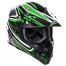 Stealth MX Helmet HD210 Droid Green