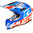 JUST1 - J12 Dominator Crash Helmet - Red Blue
