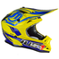 JUST1 J32 Rave Crash Helmet Blue/Yellow