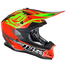 JUST1 J32 Rave Crash Helmet Lime/Red