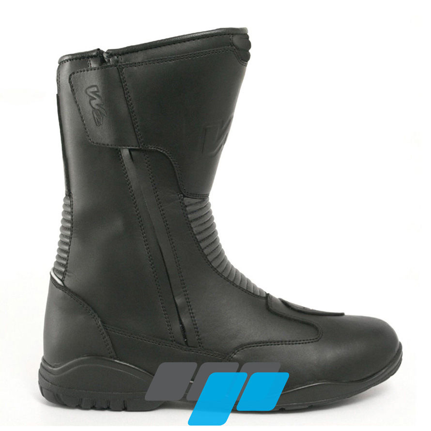 e8227325190d W2 Road DZ Adult Motorcycle Boots Black